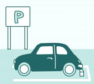 駐車場_車